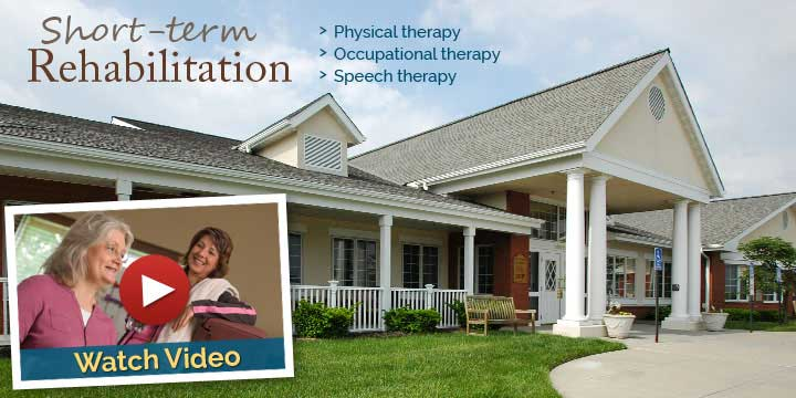 short term care rehab Medicare centers